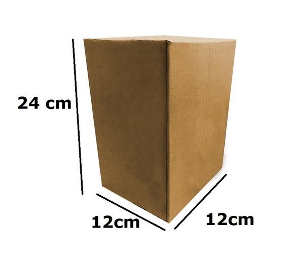 Caixa De Papelão Correios Pac Sedex 24x12x12 C/200 Unid