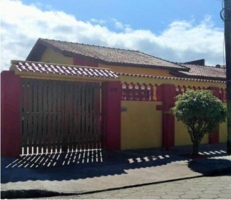 Casa Com 2 Dormitórios 900 Metros Do Mar No Bairro Belas Artes Em Itanhaém - 0093-cs
