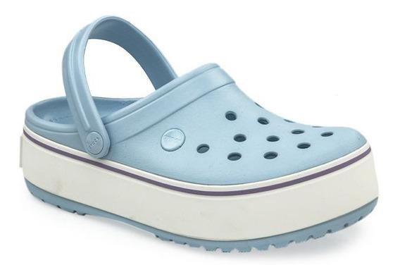 Ojotas Crocs Plataform Cle 100% Originales Con Garantia !