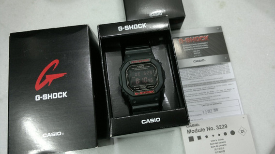 Relógio Casio G Shock Dw 5600ms - Caixa Manual Garantia