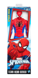 Muñeco Figura De Accion Spiderman Hombre Araña Hasbro 30 Cm