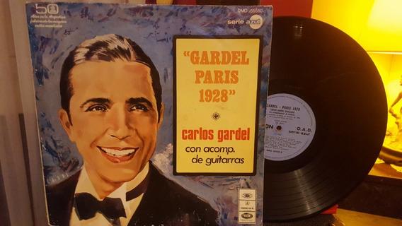 Carlos Gardel Paris 1928 Lp Disco Vinilo 1969 Ex