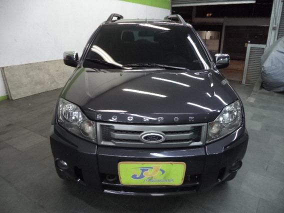 Ford Ecosport 1.6 8v Freestyle Flex Completo 2012 Cinza