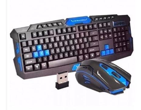 Teclado Gamer Sem Fio + Mouse Sem Fio Promoção!