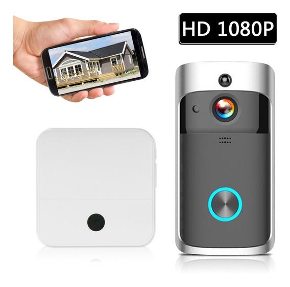 Inteligente Hd 1080 P Vídeo Porteiro Sem Fio Wi-fi Vídeo