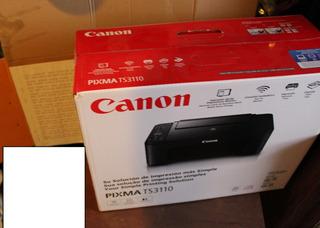 Impresora Canon Multifuncional Deskjet Pixma Ts3110 Wifi