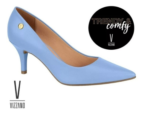 Zapatos Vizzano Stilettos Mujer En Punta Taco 7 Cm Hot 1185 Rimini