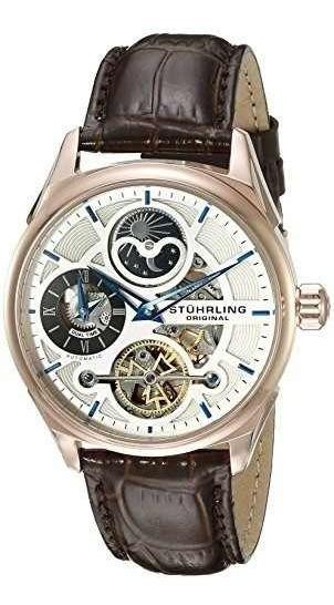 Reloj Hombre 657.04 Pulsera Cuero Marron Stuhrling