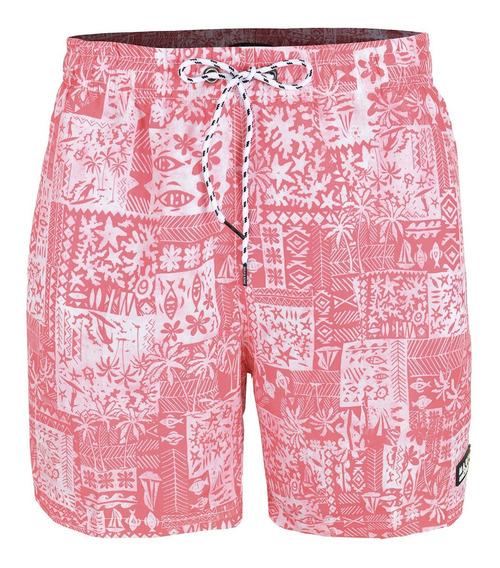 Short Traje De Baño Hombre Maui And Sons Coral 320875