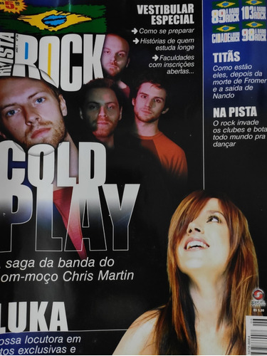 Revista Rock 89fm - Luka Cold Play - Ano 1 Edição 6