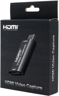 Capturadora De Video Usb 2.0 Hdmi