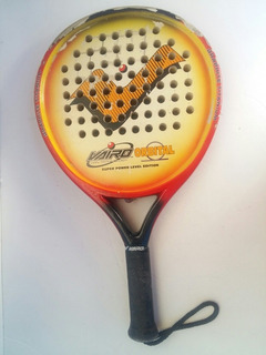 Raquete Padel Vairo Orbital Twin Technology 38mm Super Power Level Edition Original Made In Argentina Usada