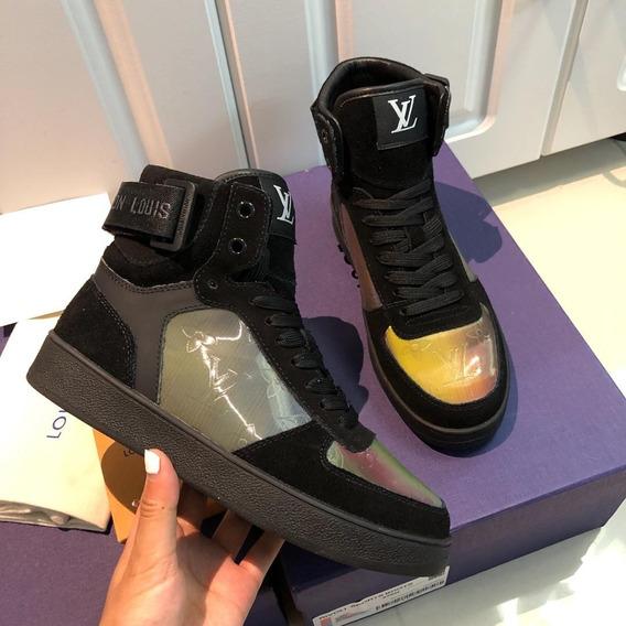 Tênis Louis Vuitton Boombox Sneaker Boot 01 Frete Grátis