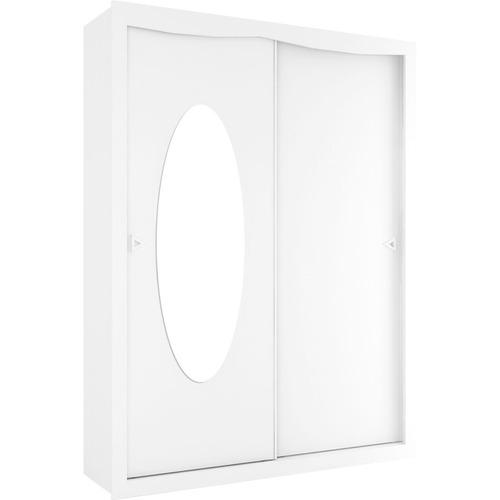 Guarda-roupa Henn Play - Branco Acetinado - 222x169x53cm