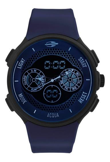 Relógio Mormaii Mo1608b/8c Mo1608b 8c Mo160323al Silicone