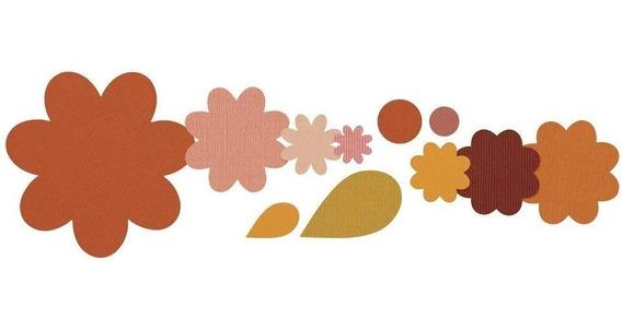Scrapbook Kit 11 Suajes De Corte Sizzix Troquel Papel Flores