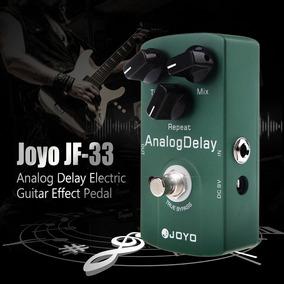 Pedal De Guitarra Joyo Analog Delay Jf-3 + Cabo P10