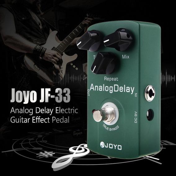 Pedal De Guitarra Joyo Analog Delay Jf-3 + Brinde