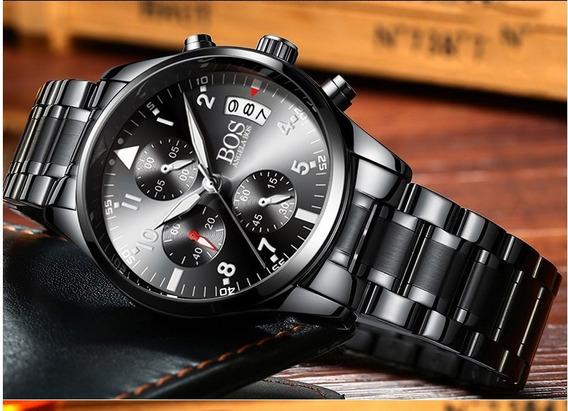 Relógio - Angela Bos - 40mm - Multifuncional - Estoque