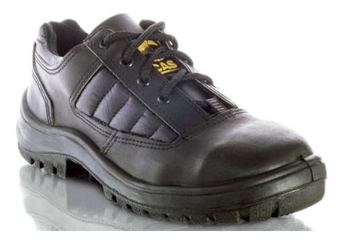 Imagen 1 de 7 de Zapato Seguridad Cas Boro Cuero Box Suela Pu Iram 36al46