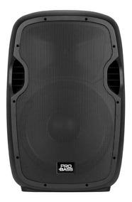 Caixa De Som Ativa Pro Bass Elevate 115 - 800w Rms C/blueth