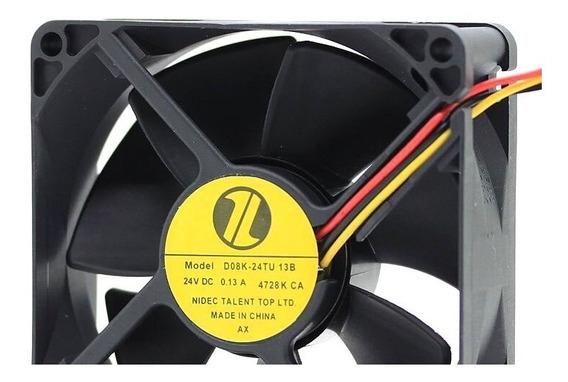 Fan Cooler Nidec D08k-24tu 13b 24v 0.13a 8cm Tis Xp