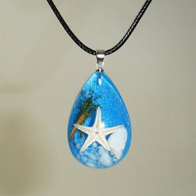Colar Estrela Do Mar Azul