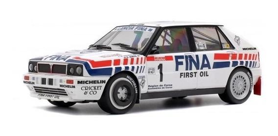 Lancia Delta Intégrale Rallye Tour De Corse 1991 1:18 Solido