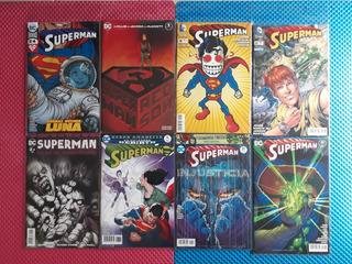 8 Dc Comics Superman #15 #24 #30 #37 #40 Red Son #1 Especial