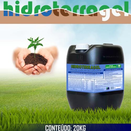 Imagem 1 de 3 de Gel Para Plantio - Mantém A Hidratação Radicular (20 Kg)