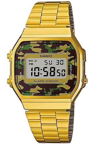 Relógio Casio Vintage Unisex A168wegc-3df