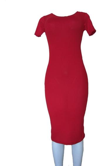 30 Vestido Largo Sexy Moderno Corte Lapiz Mayoreo Pegado