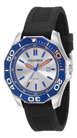 Relogio Mondaine Masculino Original Silicone 83373g0mvni1