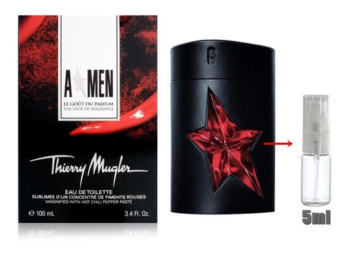 Decant  Amostra 5ml Thierry Mugler A*men Taste Of Fragrance