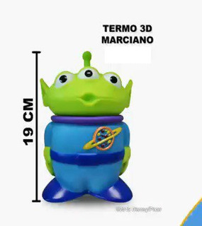 Termo Marcianito 3d Toy Story 4 Cinepolis