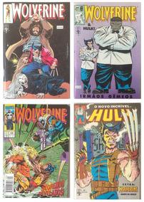 Lote De Revistas Do Wolverine - Anos 90 (envio Incluído)
