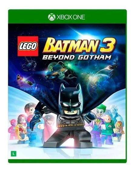 Jogo Lego Batman 3 Beyond Gotham Xbox One Mídia Física