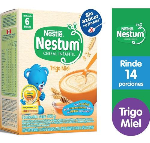 Cereal Infatil Nestum® Trigo Miel 350g