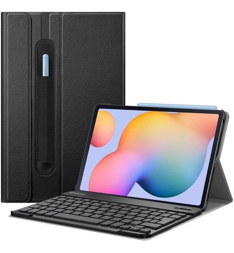 Estuche Teclado Para Samsung Galaxy Tab S6 Lite 2020 Delgado