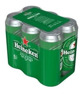 Cerveza Heineken Lata Grande 473ml Pack 24u Villa Pueyrredon