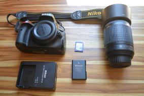 Nikon D5100 + 55-200 Mm