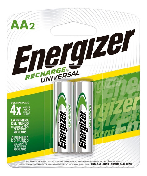 Energizer Recharge Aax2