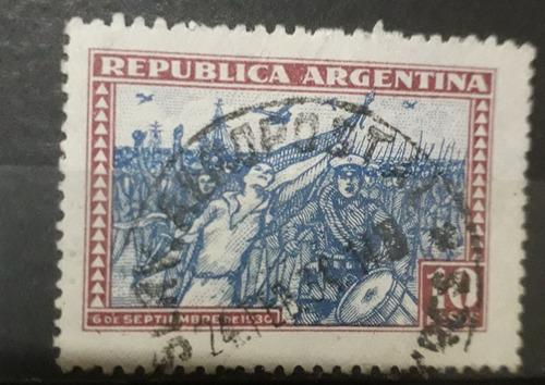 Argentina Año 1930 Rev Del 30 La 10$ Gj 692 Usada L0003