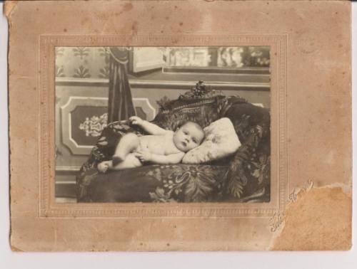 Foto De Bebe Desnudo De Estudio 1936