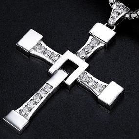Colar E Crucifixo Dominic Toretto Aço Inox