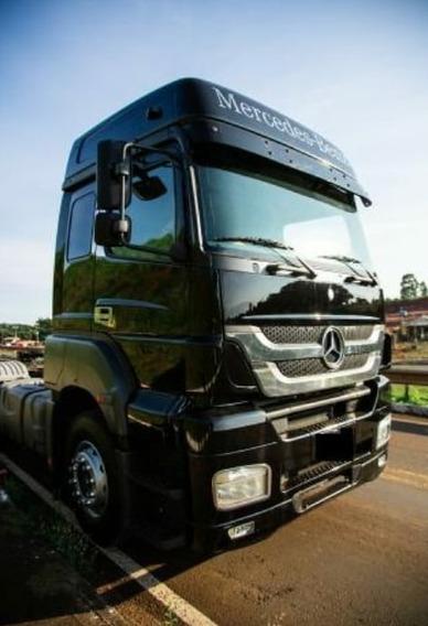 Cavalo Mercedes Benz Axor 2544 Tracado Aut. Ano 2014