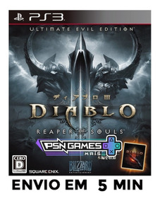 Diablo Iii Reaper Of Souls Ultimate Evil Edition Ps3 Psn