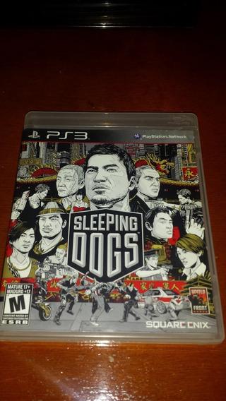 Jogo Sleeping Dogs - Ps3 Mídia Física Original