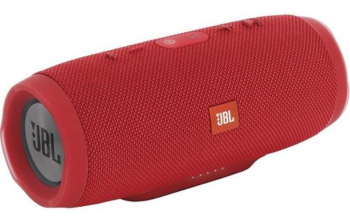 Jbl Charge 3 Altavoz Waterproof Portable Bluetooth Rojo