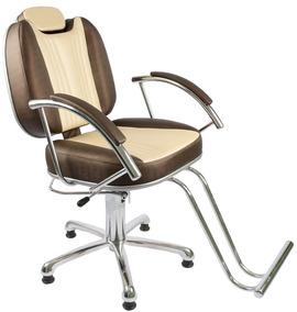 Poltrona / Cadeira Milla Reclinavel Barbeiro Frete Gratis